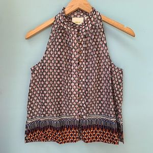 Anthropologie Shirt - Printed Tank by Maeve